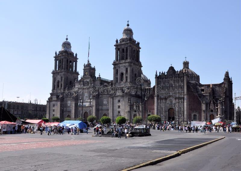 Cathédrale de Mexico photo libre de droits