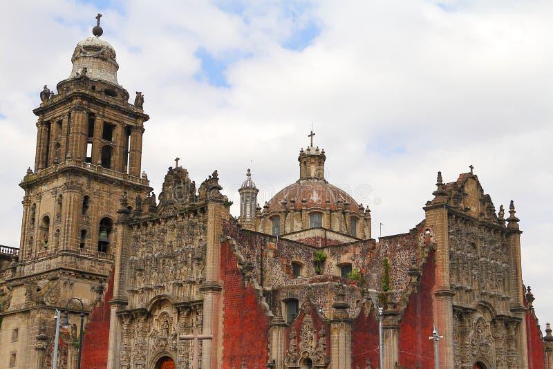 Cathédrale de Mexico V photographie stock