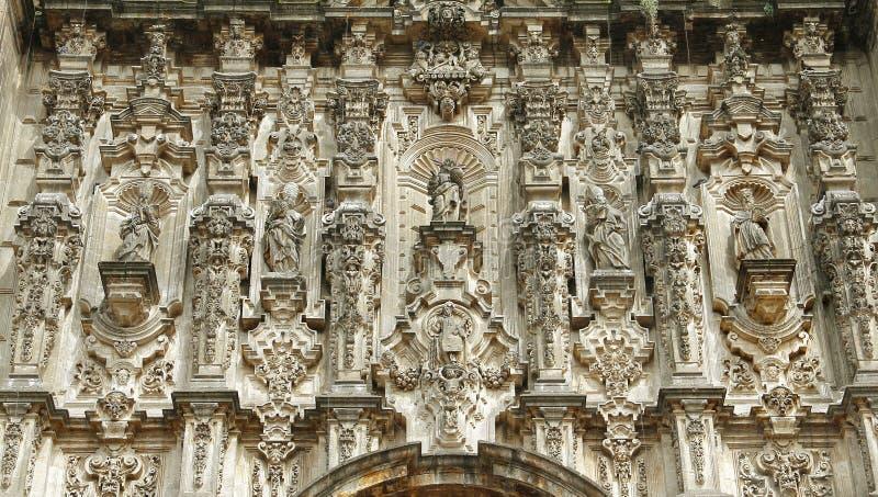 Cathédrale de Mexico X photographie stock