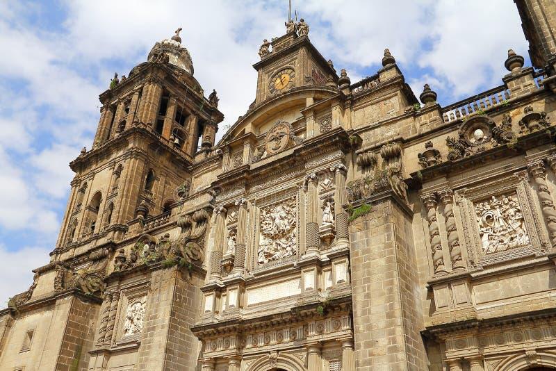 Cathédrale de Mexico XVI image libre de droits