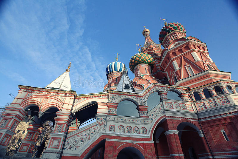 Cathédrale de Moscou images libres de droits