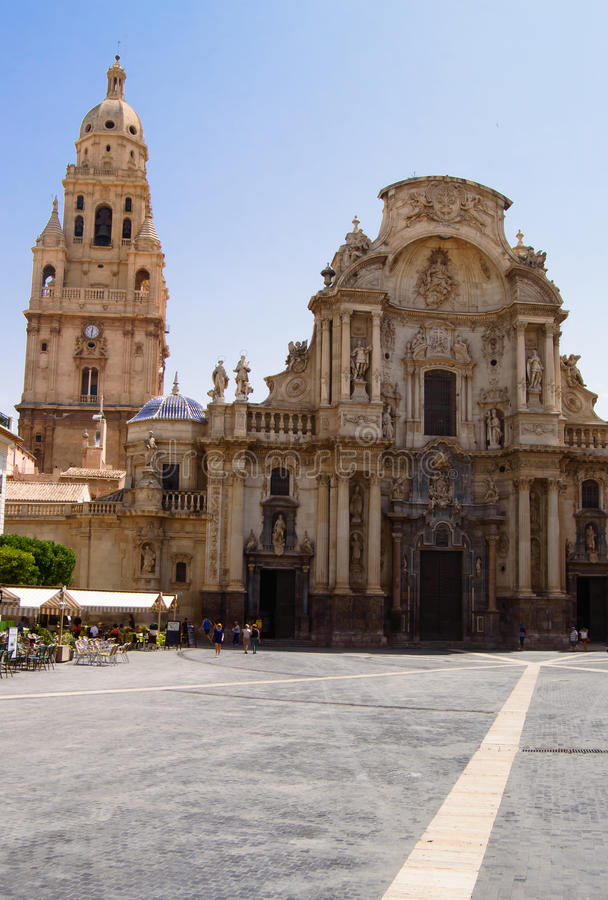 Cathédrale de Murcie image stock