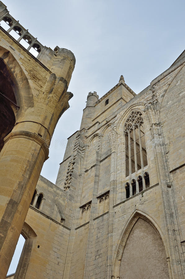 Cathédrale de Narbonne image libre de droits