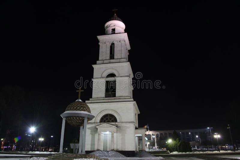 Cathédrale de nativité à Kishinev ChiÈ™inău Moldau image libre de droits