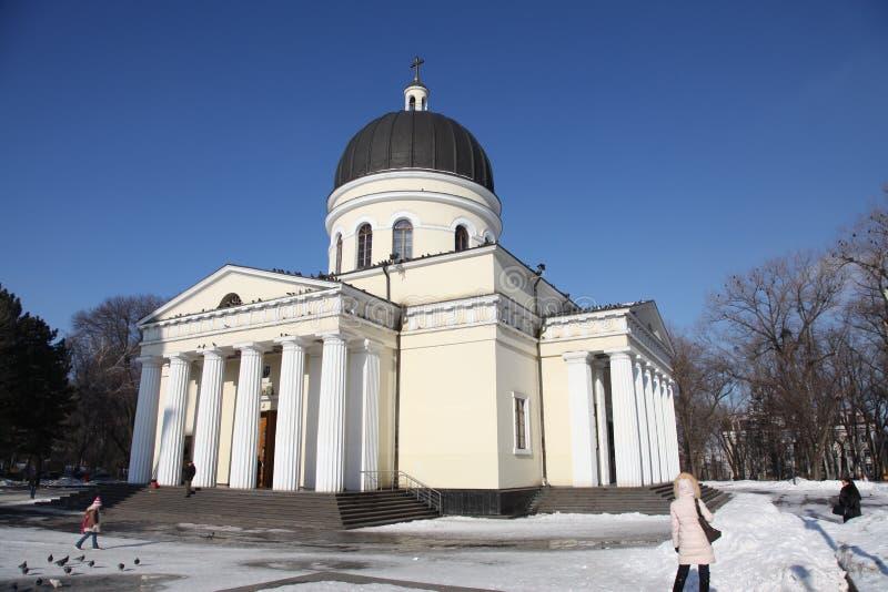 Cathédrale de nativité à Kishinev ChiÈ™inău Moldau photo libre de droits