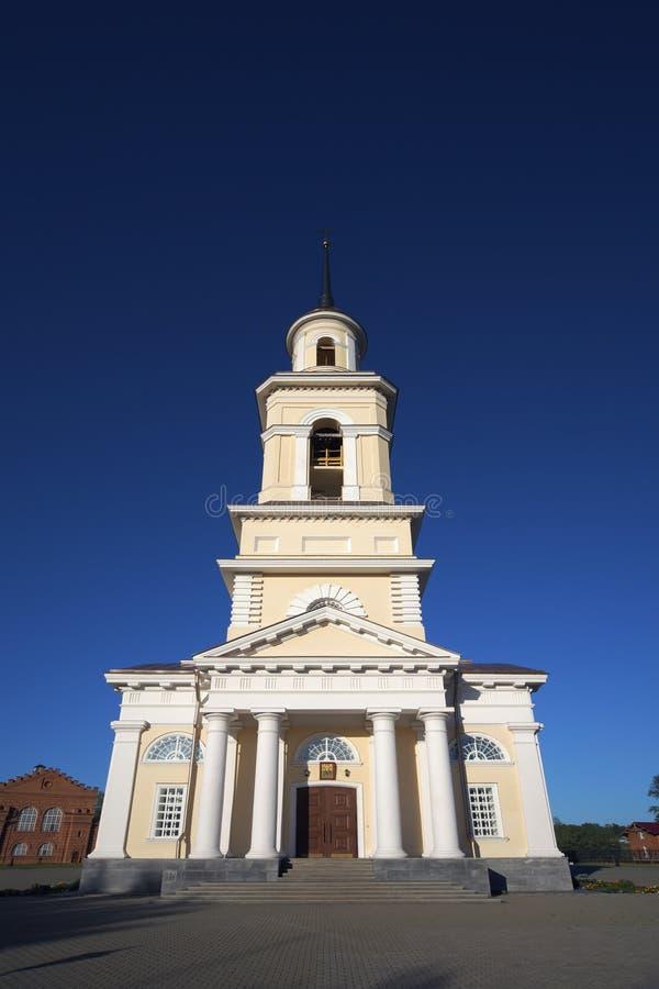 Cathédrale de Nevjansk, Russie photographie stock