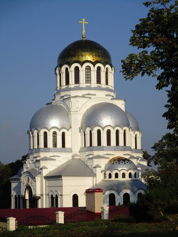 Cathédrale de Nevsky, Kamenets-Podolskiy, Ukraine photo stock