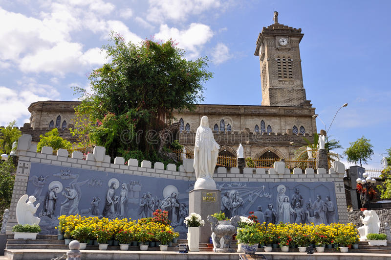 Cathédrale de Nha Trang photographie stock