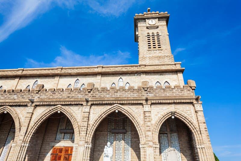 Cathédrale de Nha Trang au Vietnam photographie stock