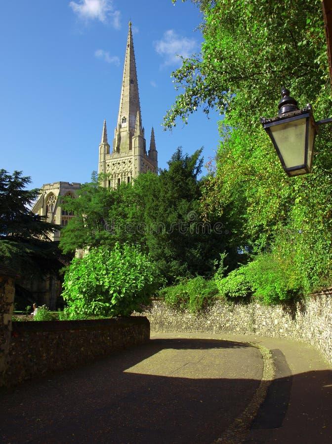 Cathédrale de Norwich photographie stock libre de droits