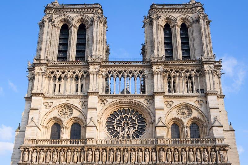 Cathédrale de Notre Dame à Paris, France image stock