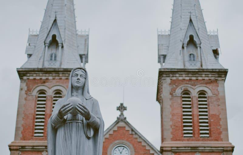 Cathédrale de Notre Dame photo stock