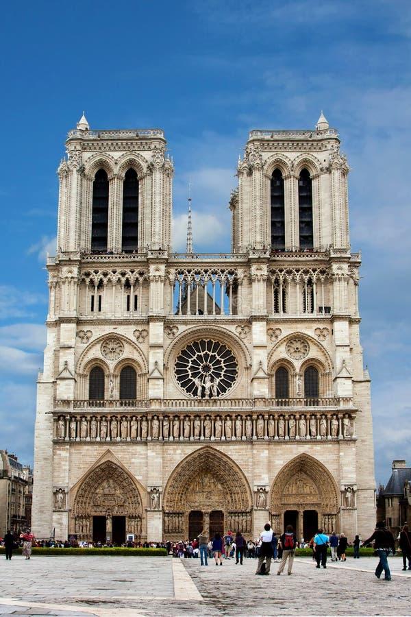 Cathédrale de Notre Dame, Paris images stock