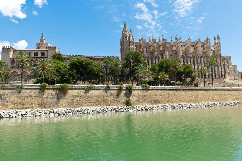 Cathédrale de Palma de Mallorca image libre de droits