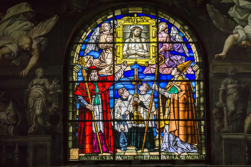 Cathédrale de Parme en Italie image libre de droits