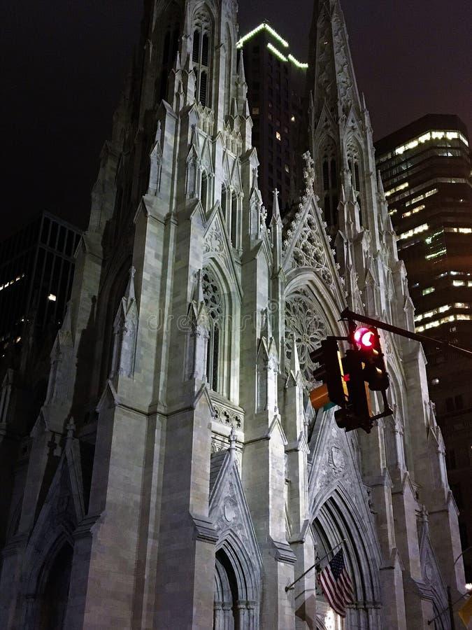 Cathédrale de Patrick de saint à New York image libre de droits