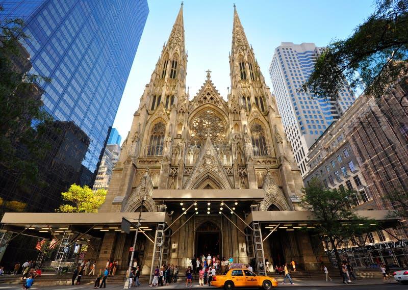 Cathédrale de Patricks de saint, NYC photo stock