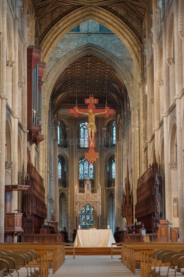 Cathédrale de Peterborough images libres de droits