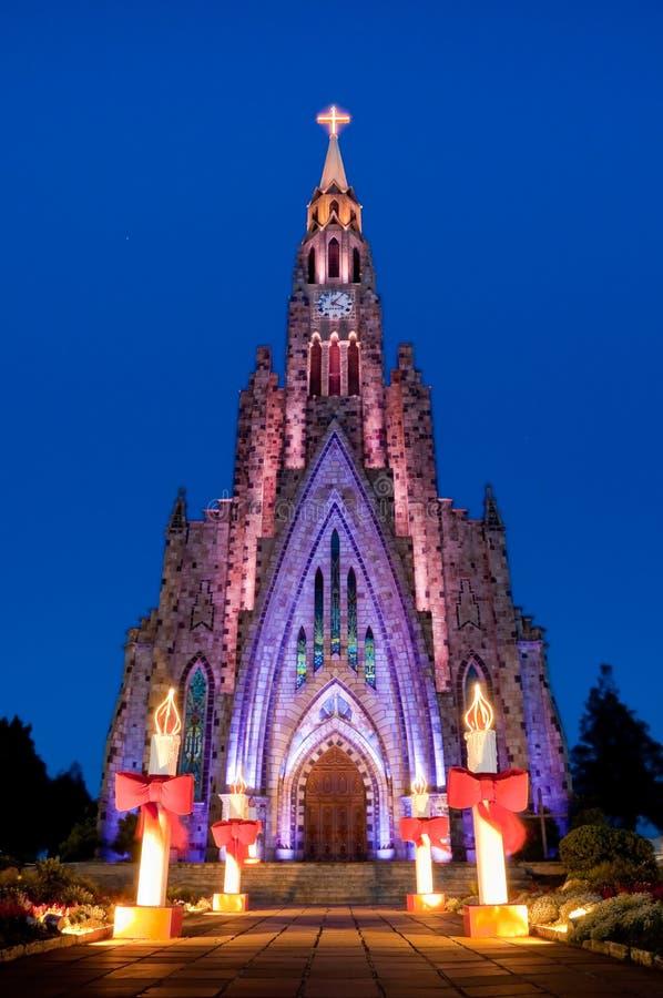 Cathédrale de pierre de Canela photographie stock libre de droits
