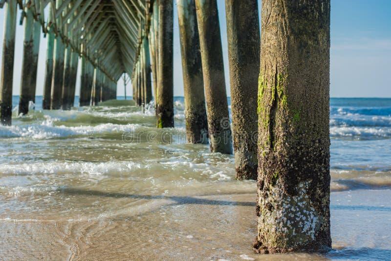Cathédrale de pilier de plage photo libre de droits