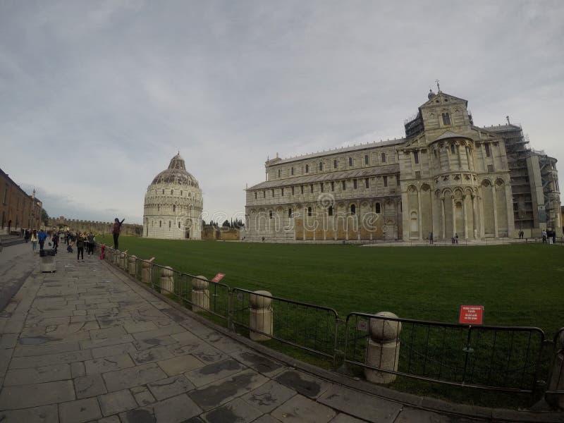 Cathédrale de Pise, Piazza del Duomo, Italie image libre de droits