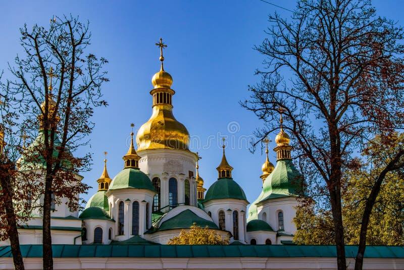 Cathédrale de place de Sophia à Kiev Kiev, Ukraine 06 11 2018 images stock