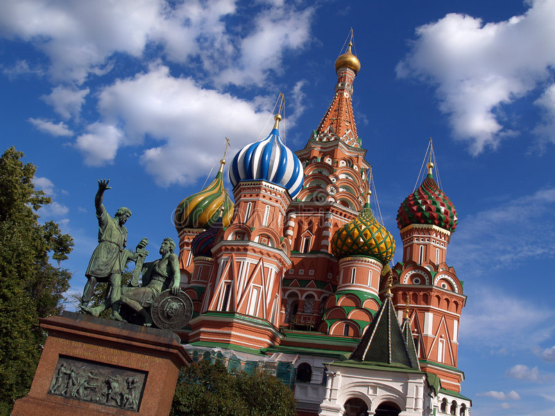 Cathédrale de Pokrovsky [2] photo stock