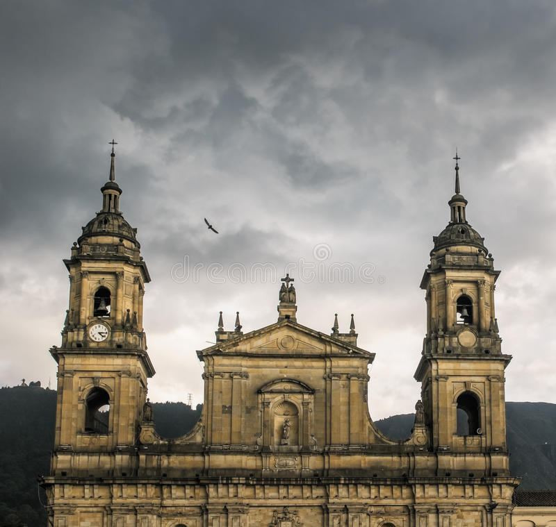 Cathédrale de primat, Bogota, Colombie photo stock