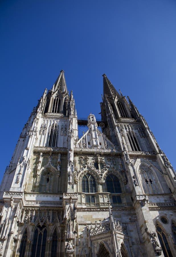 Cathédrale de Ratisbonne images stock