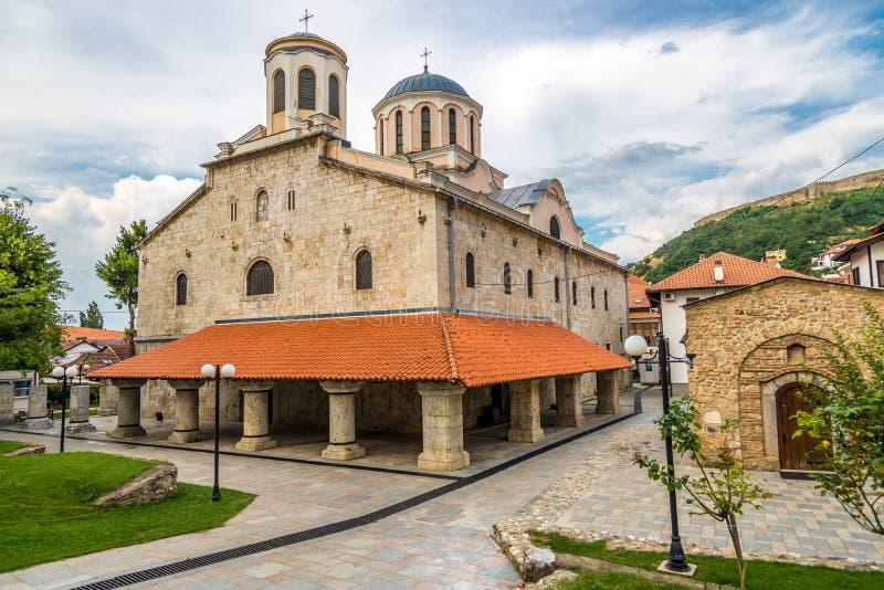 Cathédrale de rue george photographie stock libre de droits