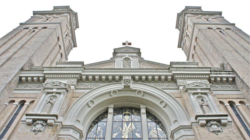 Cathédrale de rue James, Seattle photos stock