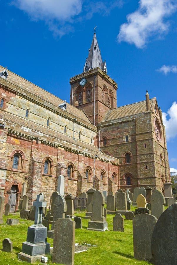 Cathédrale de rue Magnus photo libre de droits