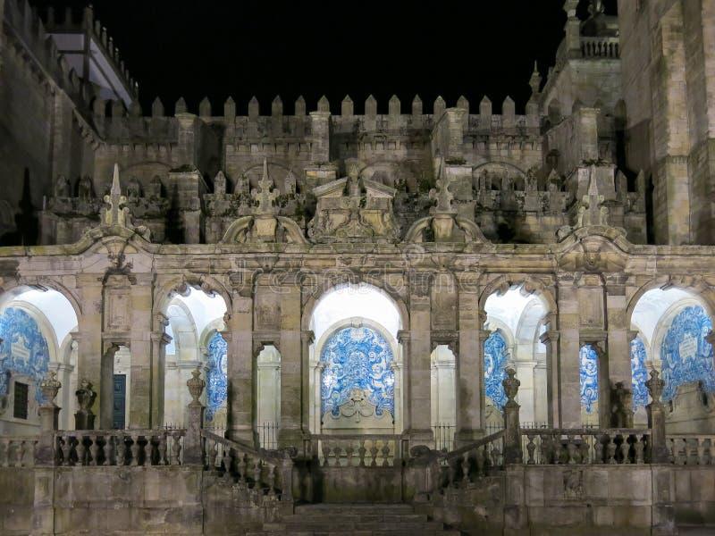 Cathédrale de Sé à Porto image libre de droits