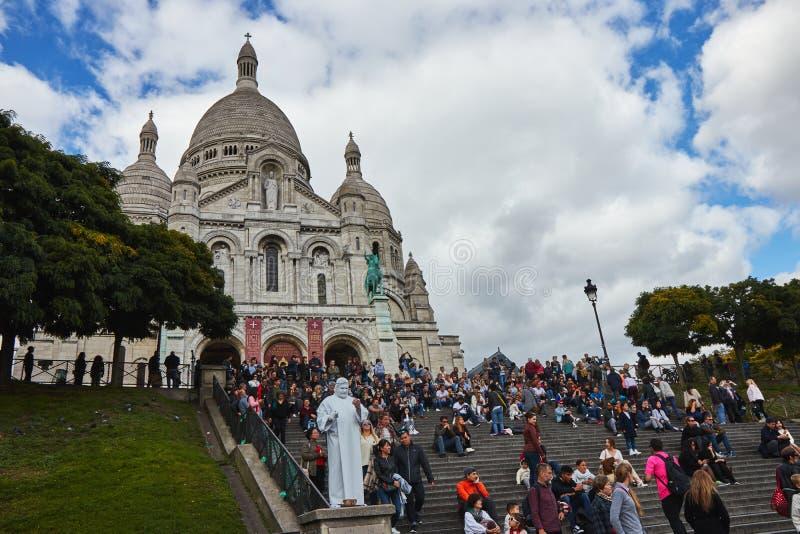 Cathédrale de Sacre Coeur photos libres de droits