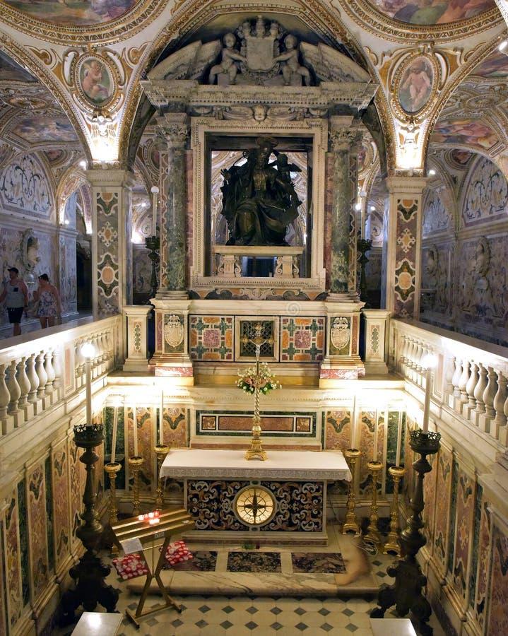Cathédrale de Salerno image libre de droits