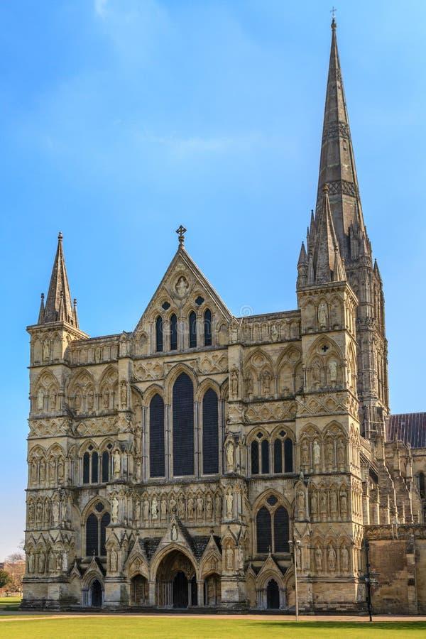 Cathédrale de Salisbury photo libre de droits