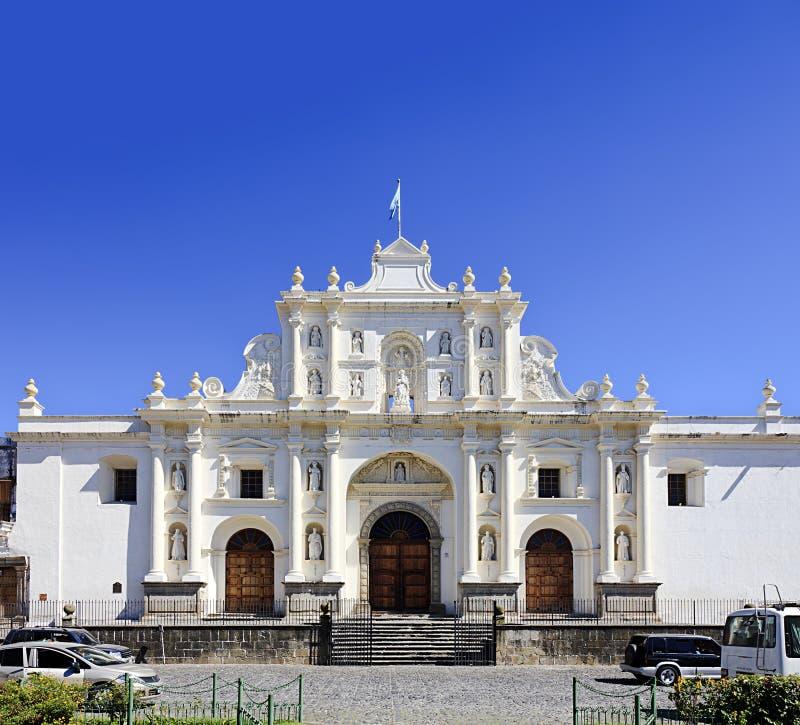 Cathédrale de San Jose à l'Antigua, Guatemala images libres de droits