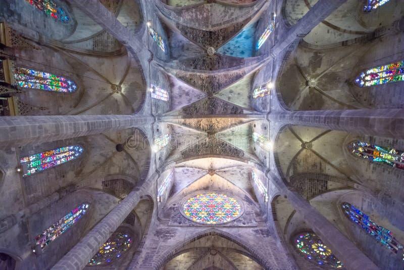 Cathédrale De Santa Maria en Palma de Mallorca images stock