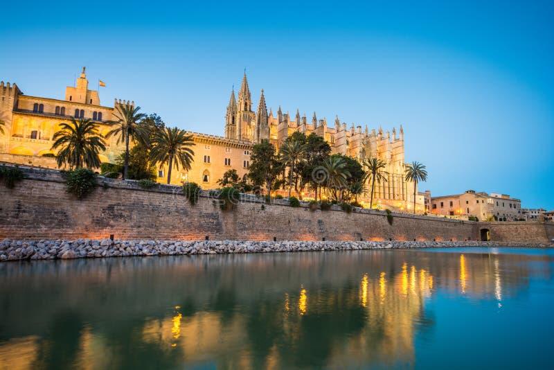 Cathédrale De Santa Maria en Palma de Mallorca Spain images stock