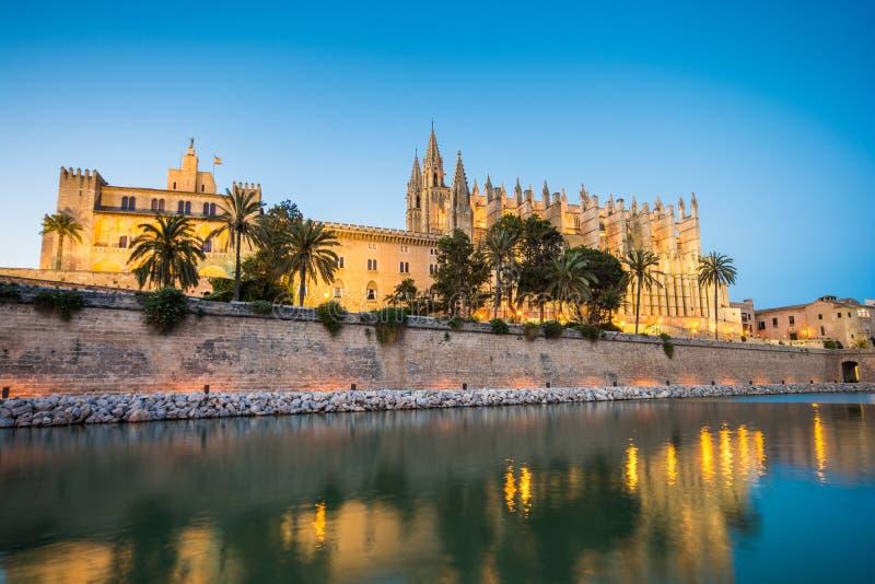 Cathédrale De Santa Maria en Palma de Mallorca Spain photo libre de droits