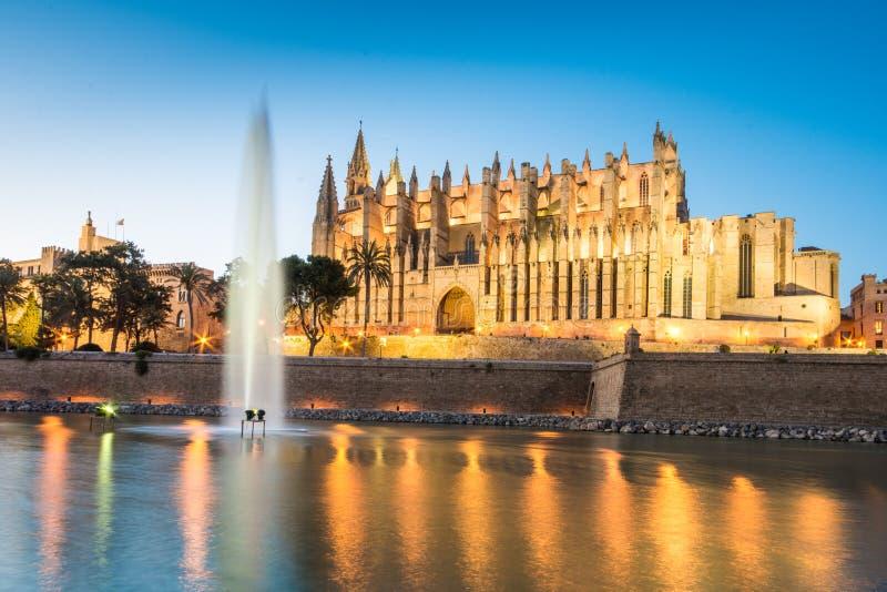 Cathédrale De Santa Maria en Palma de Mallorca Spain photos libres de droits