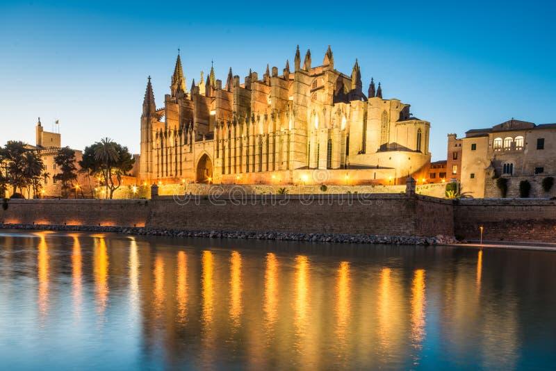 Cathédrale De Santa Maria en Palma de Mallorca Spain photos stock