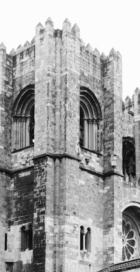 Cathédrale de Santa Maria Maior de Lisbonne photographie stock libre de droits