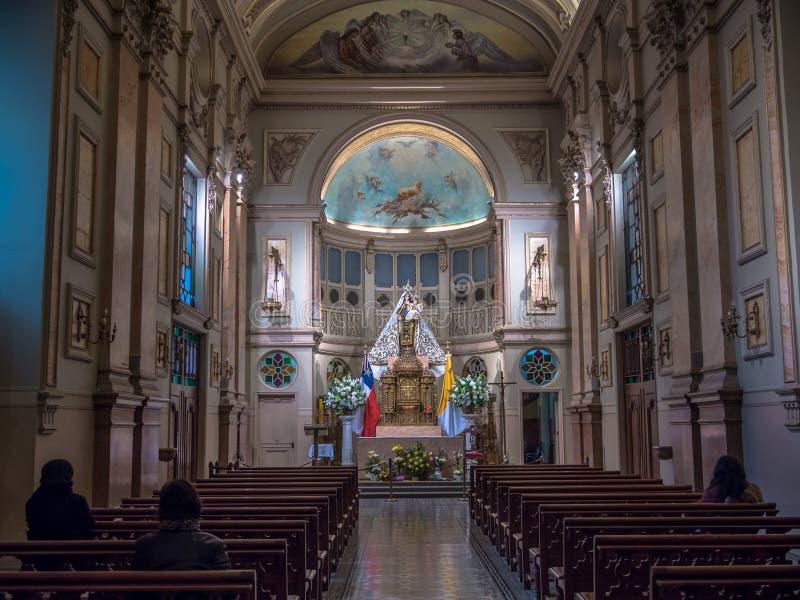 Cathédrale De Santiago image stock