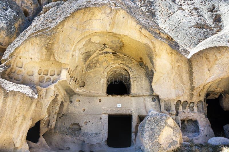 Cathédrale de Selime, cappadocia, Turquie images stock
