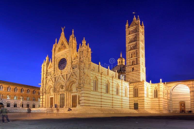 Cathédrale de Sienne, Italie images libres de droits