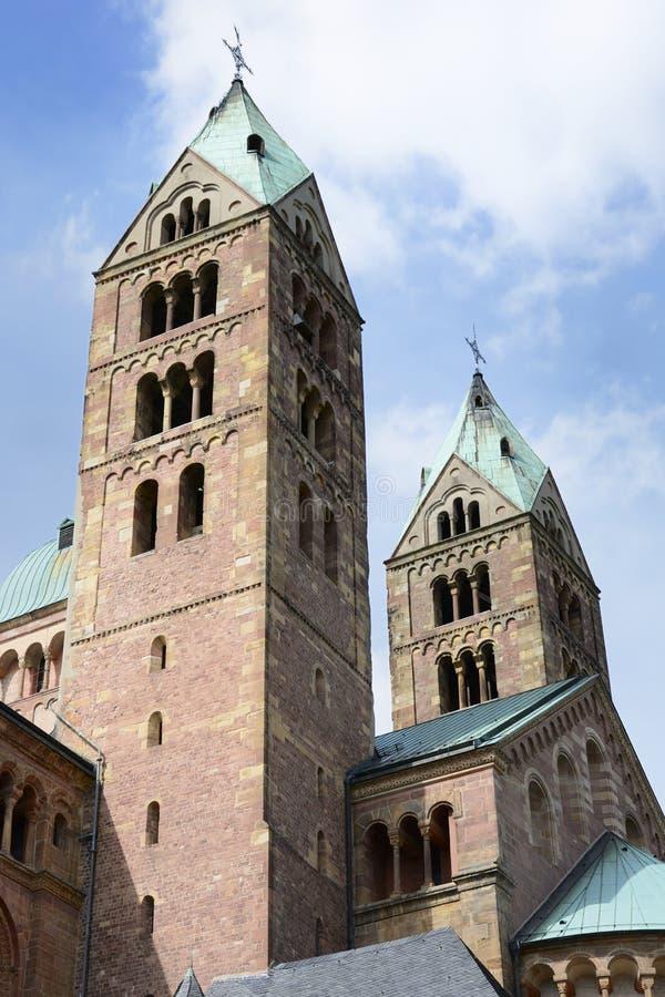 Cathédrale de Speyer photographie stock