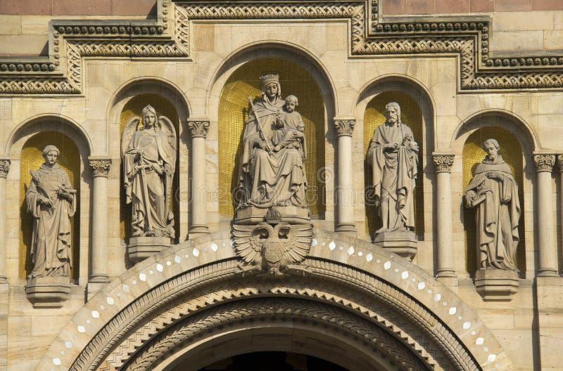 Cathédrale de Speyer, Allemagne photos libres de droits