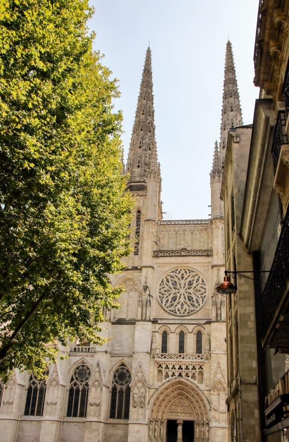 Cathédrale de St Andrew au Bordeaux photos libres de droits