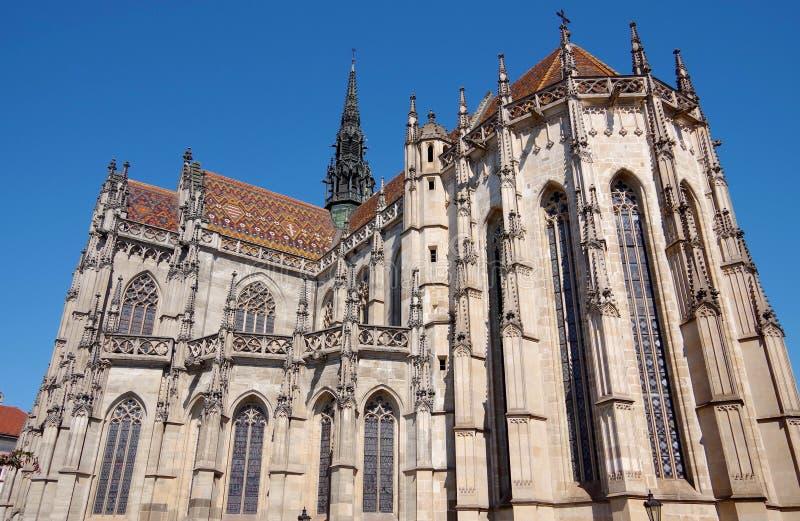 Cathédrale de St Elizabeth, Kosice, Slovaquie image libre de droits